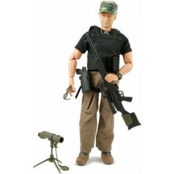 World Peacekeepers 12in Poseable Army Action Figure CIA Spec Op Group 3+Yr